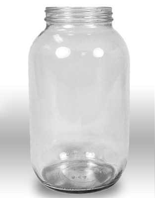 Econ. Glass Jars